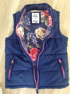 Mini Boden Girls  Blue Gilet, Sleeveless Jacket,  Body warmer Age 9-10
