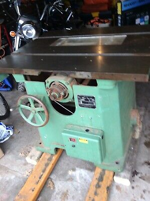 Northfield No. 3 Tilting Table Saw Vintage with Lots of extras