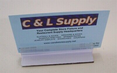"""Store Display Fixtures 3 New Magnetic Acrylic Sign Holders 3"""" Long"""