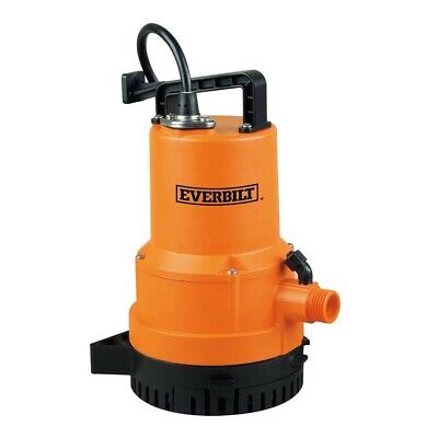 Everbilt 1/4 HP 2-in-1 Utility Pump