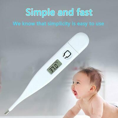 CA Digital Thermometer LCD Display Oral Ear Underarm Audible Fever Alarm