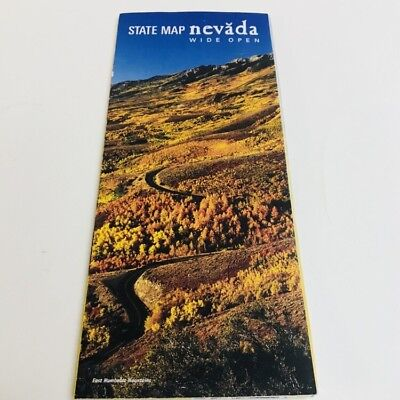 2007-2008 Official Nevada State Highway Transportation Road Travel Map