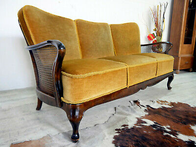 Schöner Chippendale Sofa 3Sitzer Chippendale Sofa / Couch Polstersofa