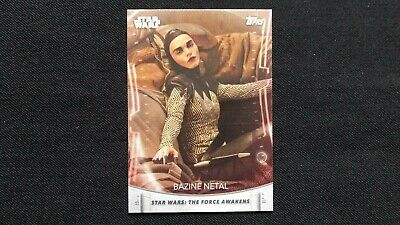 Star Wars The Women Of Star Wars Trading Base Card # 9 2020 Topps Packet Fresh