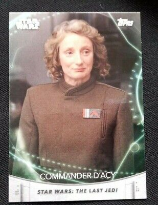 Star Wars The Women Of Star Wars Trading Base Card # 18 2020 Topps Packet Fresh