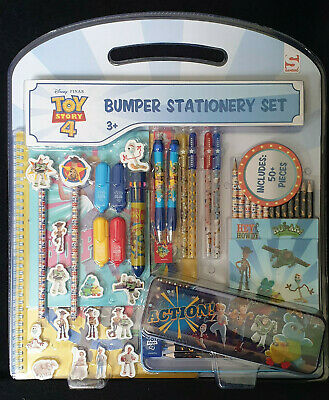 Toy Story 4 Bumper Stationary 59 Pieces Set New