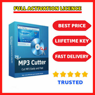 MP3 Cutter 4.3.2  🔑 Genuine Lifetime License key ⭐ Fast Dilevery