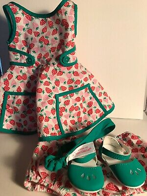 American Girl Maryellen's Strawberry Outfit Retired Maryellen Complete Outfit!