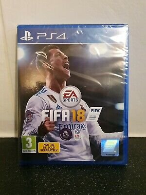 Brand New unopened  Ps4 fifa 18 game.