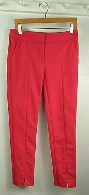 Ann Taylor LOFT Marisa Skinny in Rustic Pink Stretch Ankle Pants Size 4