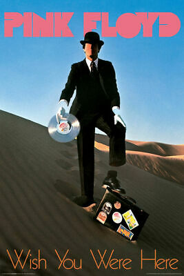PINK FLOYD - WISH YOU WERE HERE POSTER - 24x36 MUSIC 241446