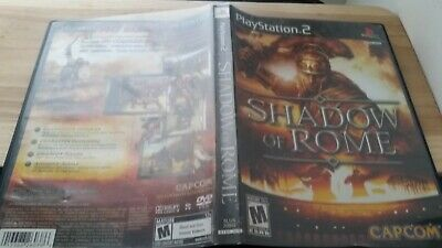 Shadow of Rome Sony PlayStation 2 PS2 Authentic Original Game only