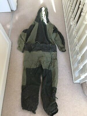 Early Mk2 British Army NBC Suit See Description