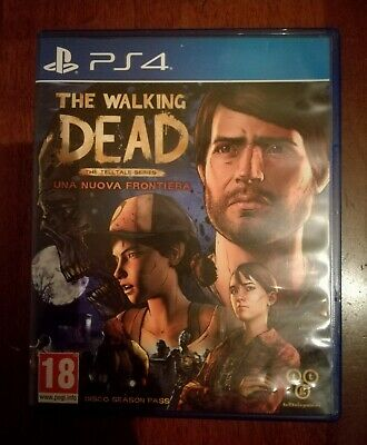 PS4 Gioco playstation 4 - The walking dead a new frontier