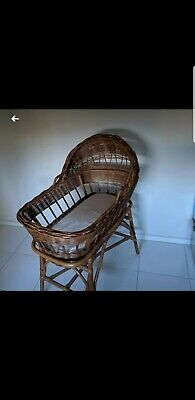 Vintage Grow years Cane Bassinet