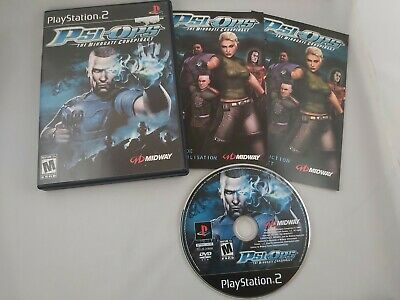 Psi-Ops: The Mindgate Conspiracy (Sony PlayStation 2, PS2 2004) CIB