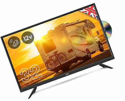 Cello 12 volt 32 C32F Traveller LED TV with DVD and Satellite