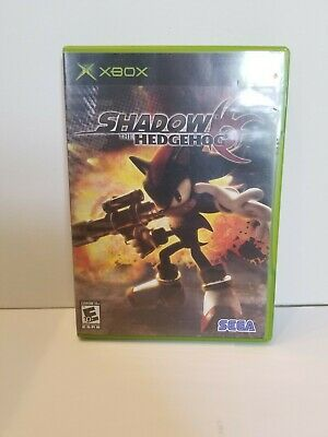 Shadow the Hedgehog (Microsoft Xbox, 2005) Tested Video Game Sonic