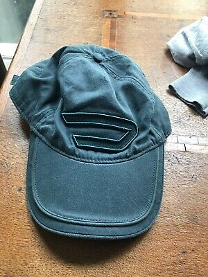 Diesel Cap Womens Blue Green Faded Colour. Yellow Inside Cotton.
