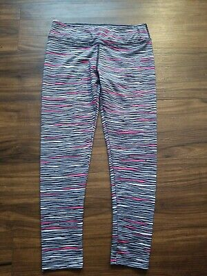 Nike Dri Fit Compression Leggings Girls Kids Size 6X Gray