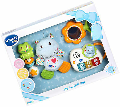 VTech My First Gift Set New Baby Gifts, New-born Baby Toys Including Hippo Baby