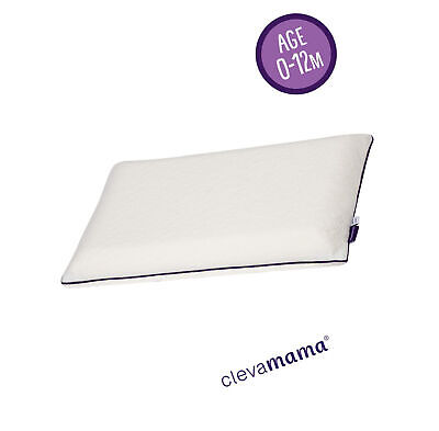 Clevamama Clevafoam Support Baby Pillow (0-12 nths)