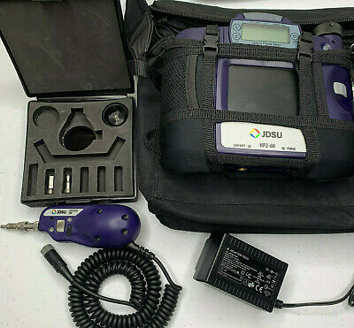 JDSU HP2-60-P2 Fiber Optic Microscope & Power Meter - 200x/400x Microscope Kit