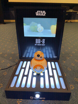 Star Wars Sphero BB8 electronic point of sale display RARE collector opportunity
