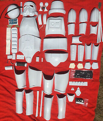 starwars stormtrooper shadowtrooper armour costume ANH kit ABS Plastic no reserv