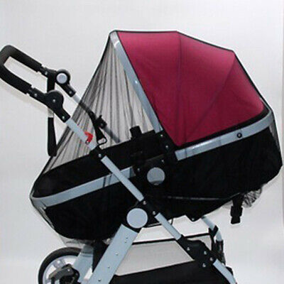 Stroller Pushchair Pram Mosquito Fly Insect Net Mesh Buggy Cover for Baby XIU