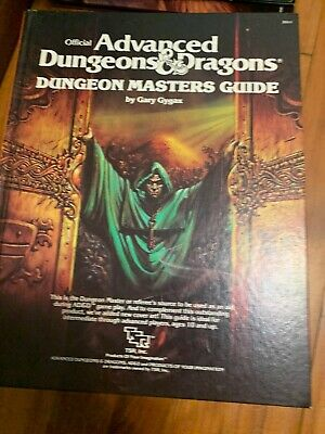 AD&D Advanced Dungeons & Dragons Dungeon Masters Guide - 1979 Revised Edition HC