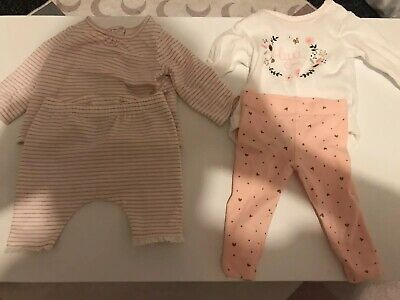 baby girls clothes 0-3 months 2 X Next Outfits
