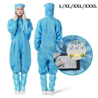 Reusable Protective Overalls Suit Splashproof Protective Isolation Clothing Suit
