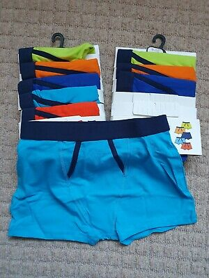 Boys Age / Size 9-10 Years BNWT Underwear Boxers Trunks Bundle 9 Pairs