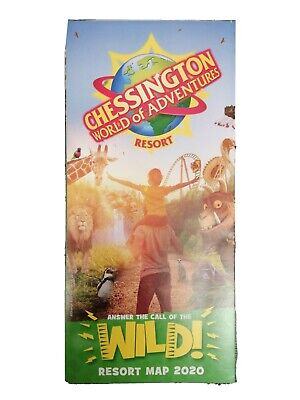 Chessington World Of ADVENTURES 2020 Park Map