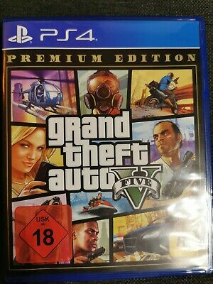 GTA 5 Grand Theft Auto V Premium Edition (PS4)