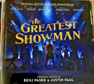New ; The Greatest Showman Soundtrack Cd. From 2017.Excellent Tracks. Don't Miss