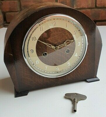 Vintage Smiths Mechanicle Mantle Clock