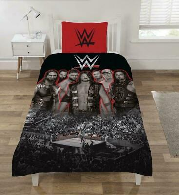 Official WWE Raw Smackdown 'Ring' Single Duvet  SET / Quilt  Set POLYCOTTON NEW