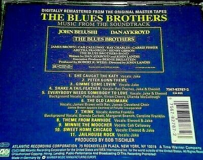 As New: The Blues Brothers Ost. Remastered From Orig. Make A Brilliant Present