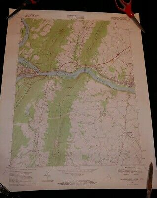 Usgs Map Harpers Ferry Quadrangle~Va~Md~Wv~1971~Vintage Original~Free Ship