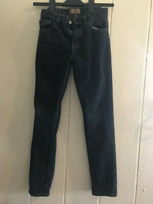 Next Boys Slim Blue Denim Jeans- Size: Age 10 Years