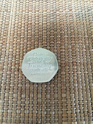 2020 OFFICIAL UK BREXIT 50p FIFTY PENCE COIN RELEASED 31st JANUARY