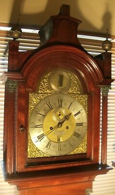 "Antique  ""London""  Automation  Father Of Time  Longcase / Grandfather Clock"