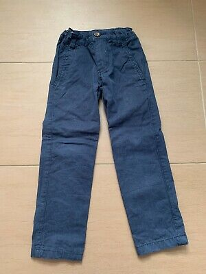 Boys Boden Slim Fit Navy Chino Trousers Age 4 Years