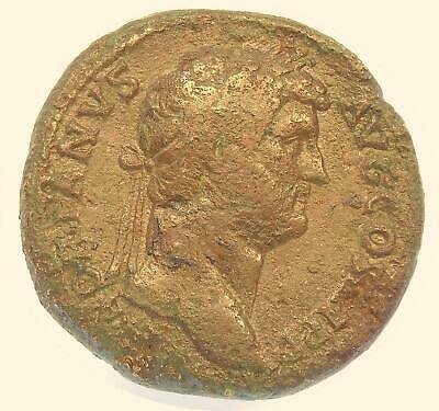 LumisNumis Large Ancient Bronze Coin Hadrian 26.3g 32mm Roman Imperial