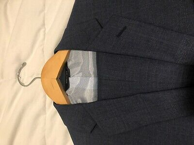 Banana Republic Modern Slim Fit Suit Men 40 Jacket 34/32 Pants