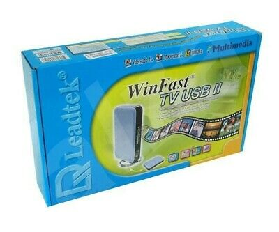 Leadtek WinFast TV USB II With All Parts and Remote