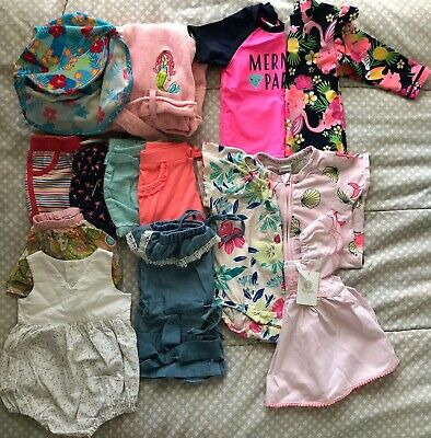 Baby Girls Size 0 (6-12 Months) Summer Clothing Bundle, Excellent Condition
