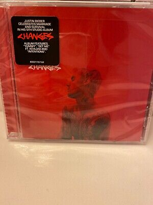 Justin Bieber Changes CD Album 2020 Physical SEALED BRAND NEW 0602508692000